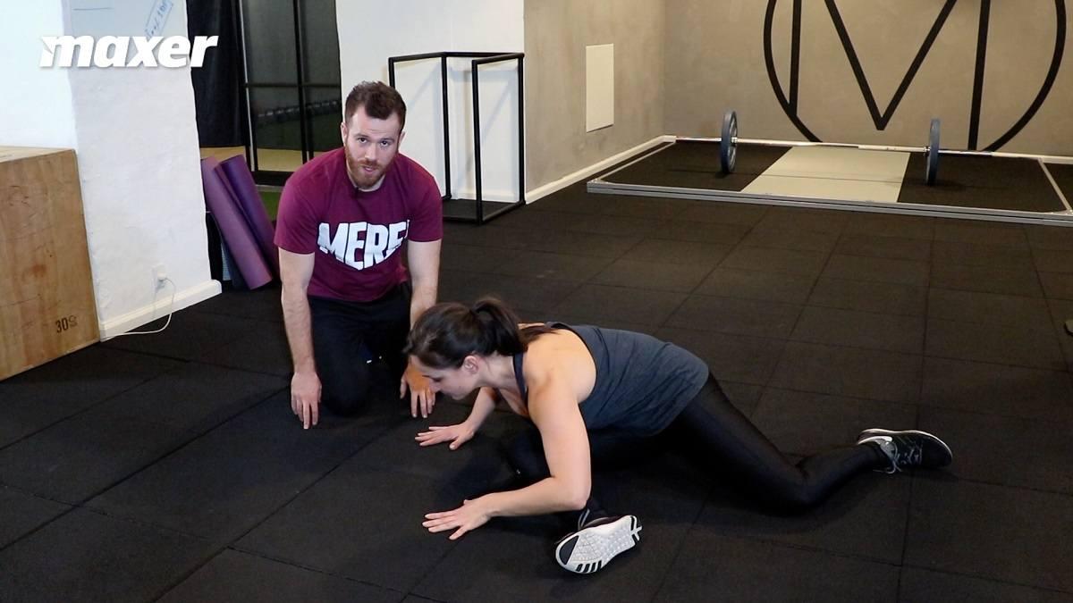 Når du laver 9090, træner du din hoftes rotation.
