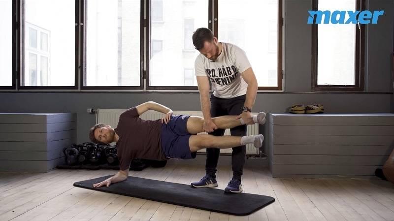 Copenhagen hip adduction er en gennemtestet øvelse for dine inderlår og lyske.