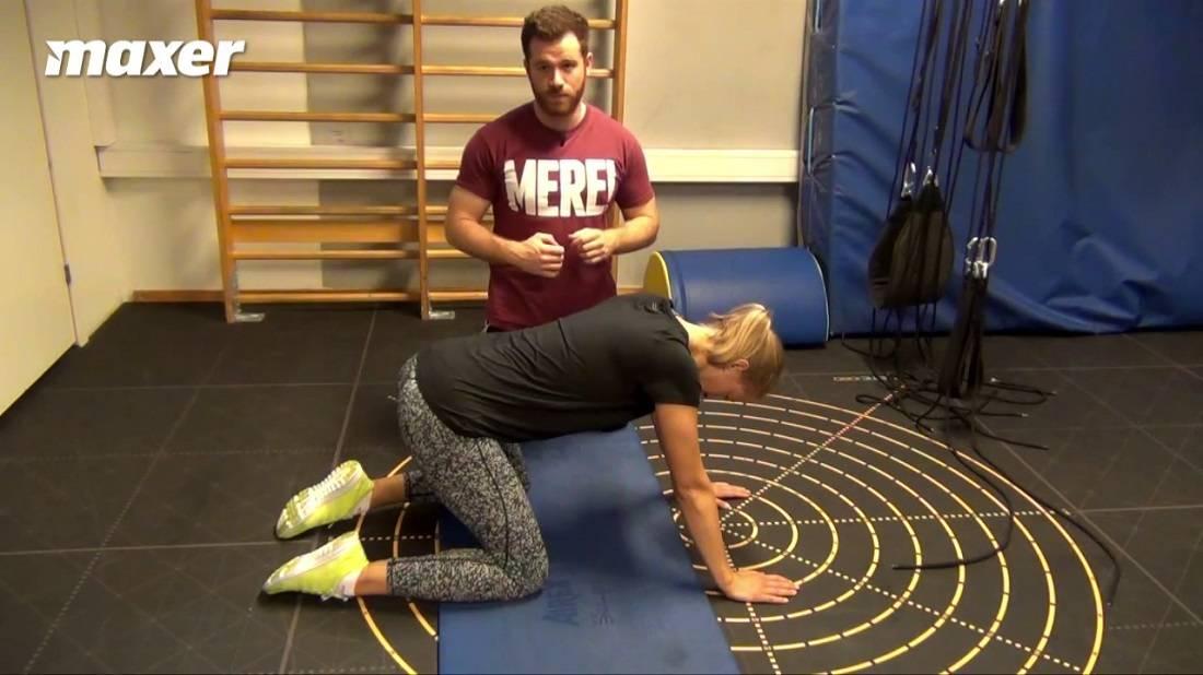 Frøen er kendt fra yoga og arbejder især med din hofte.
