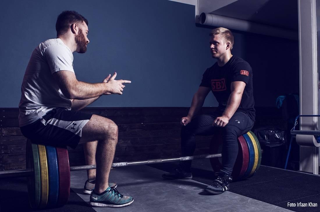 Gennem samtale tilpasses træningen til dine behov