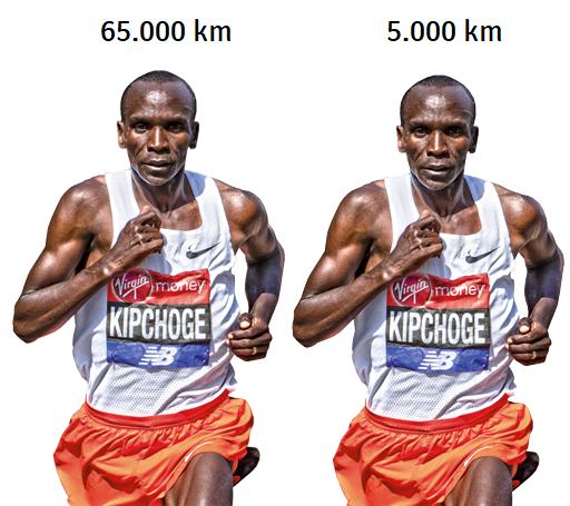 Når du træner kroppen, bliver den bedre - det gælder også for løb.