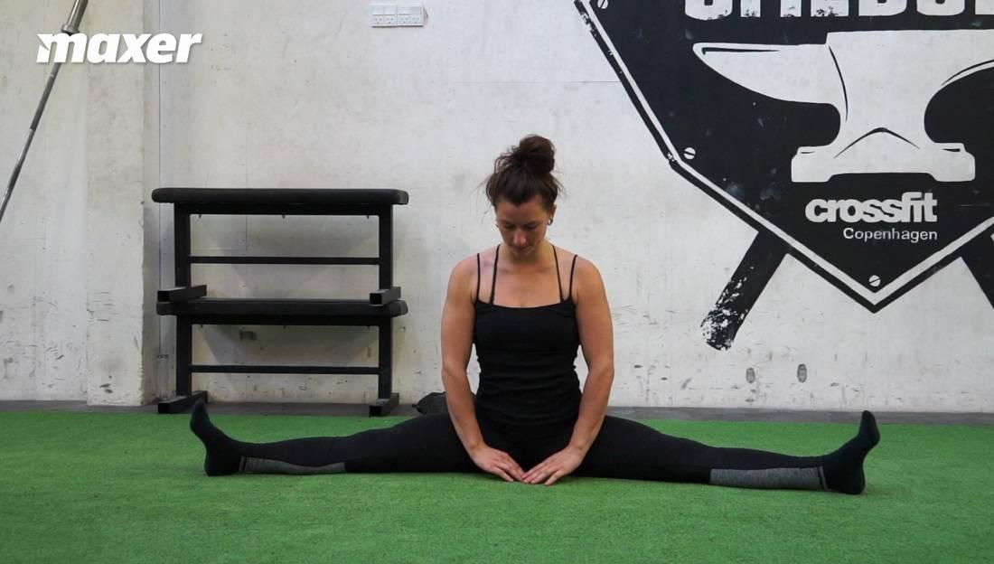 Split er en øvelse, der kræver stor smidighed at mestre.