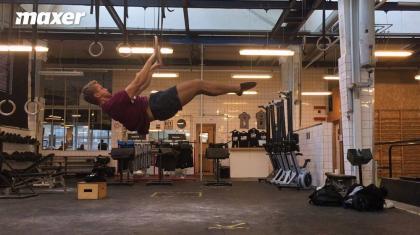 Front lever (på dansk forlæns balance) er en udfordrende kropsvægtsøvelse fra gymnastikken.