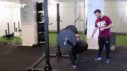 Når din hofte går op før skuldrene i squat og dødløft, så bliver bunden let, men toppen meget tung.