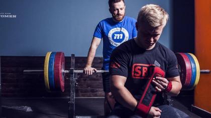 Matti Christensen er den bedste dansker i klassisk styrkeløft på tværs af vægtklasser.