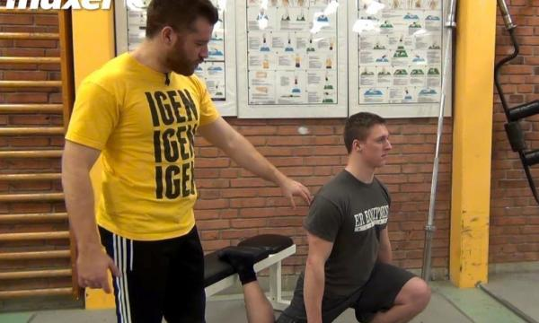 Bulgarian Split-Squat