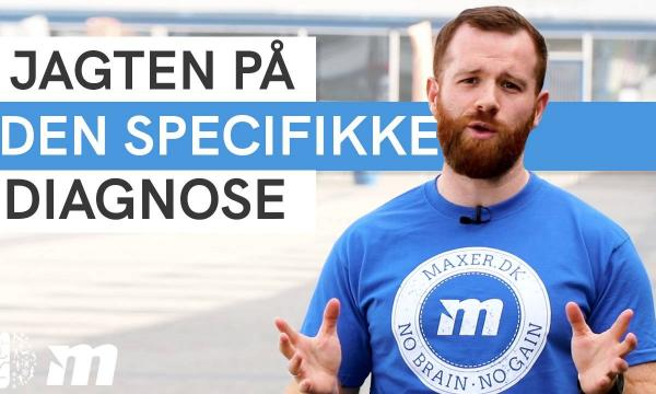 Jagten på den specifikke diagnose for smerter