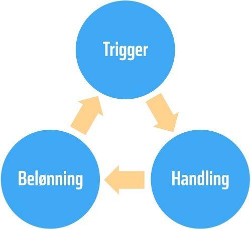 Vane-loopet (på engelsk: habit loop) beskriver hvordan en vanen er styret.